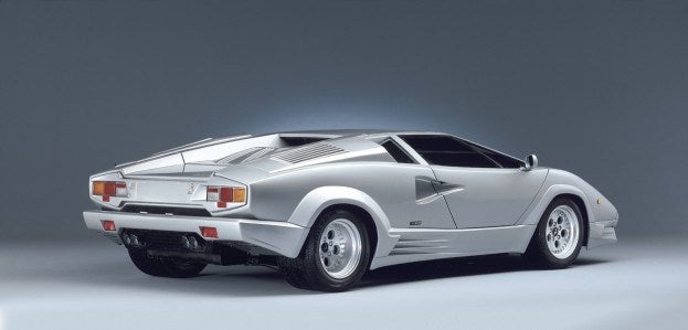 Lamborghini Countach rear