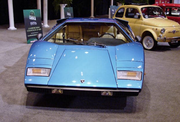 1976 Lamborghini Countach at 2011 CIAS