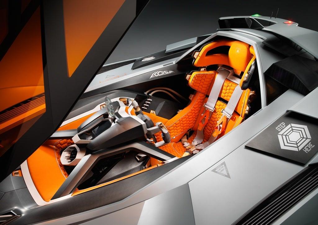 Lamborghini Egoista interior photo on Automoblog.net
