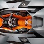 Lamborghini Egoista top closeup