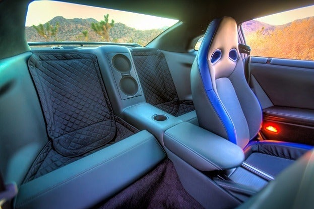 2014 Nissan GT-R Track Edition interior