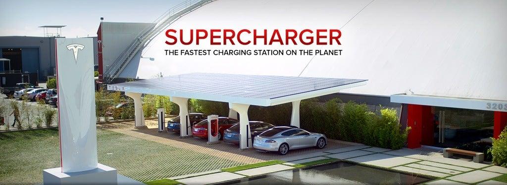 Telsa Supercharger
