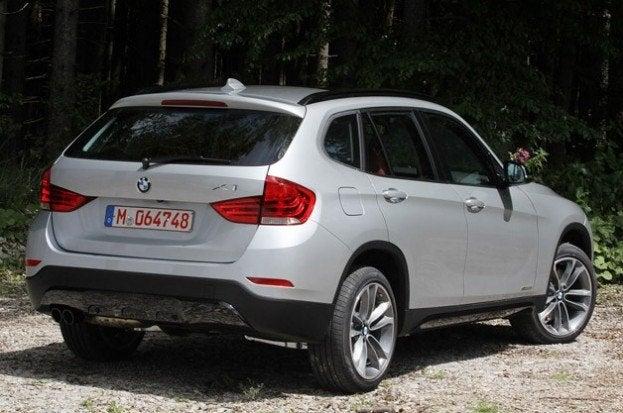 2013 BMW X1 rear