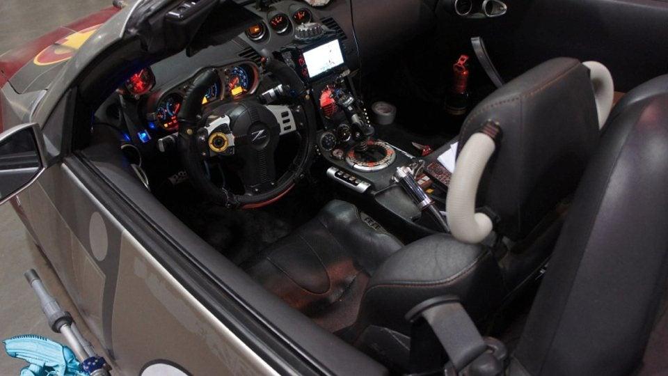 star wars nissan 350z interior photo on automoblog