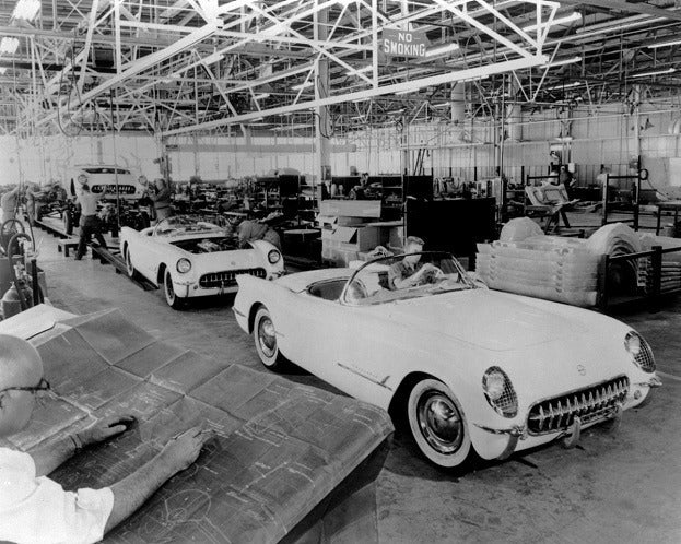 1953 Chevrolet Corvette Assembly 02 medium