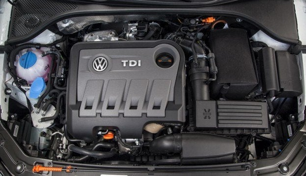 2013 VW Passat TDI Engine