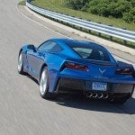 2014 Chevy Corvette Stingray Z51 rear