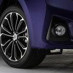 2014 Toyota Corolla S wheel