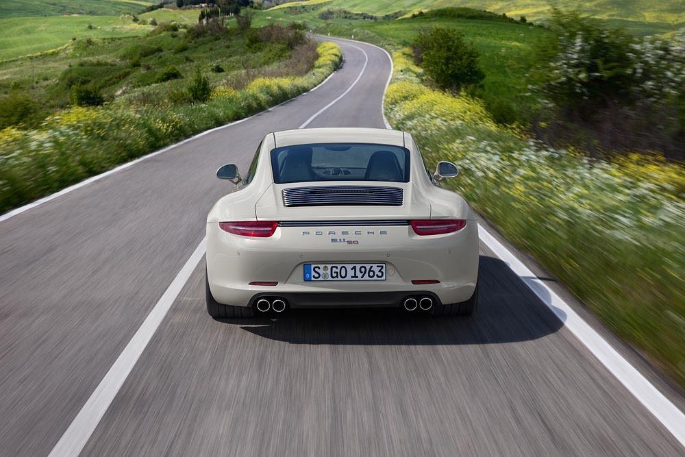 Porsche 911 50th Anniversary Edition rear
