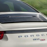 Porsche 911 50th Anniversary Edition tail