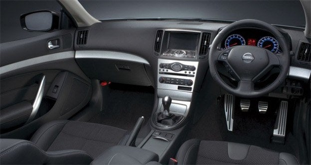 Right Hand Drive Nissan interior