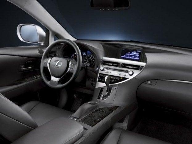 2013 Lexus RX 450h interior
