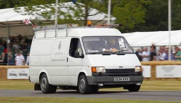 XJ220 Transit Van