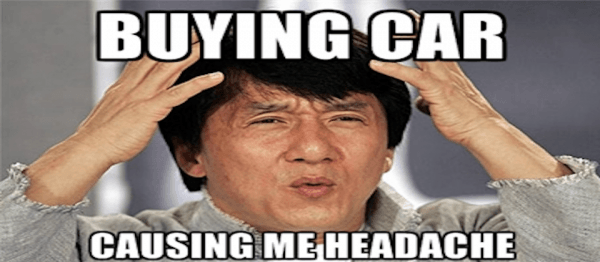 buying a car headache