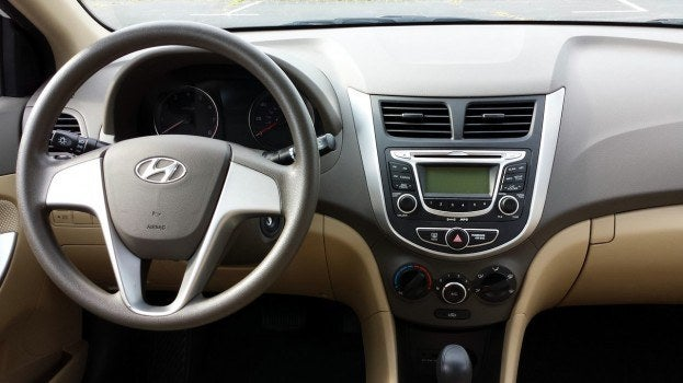 2013 Hyundai Accent Review The Epitome Of Dullsville