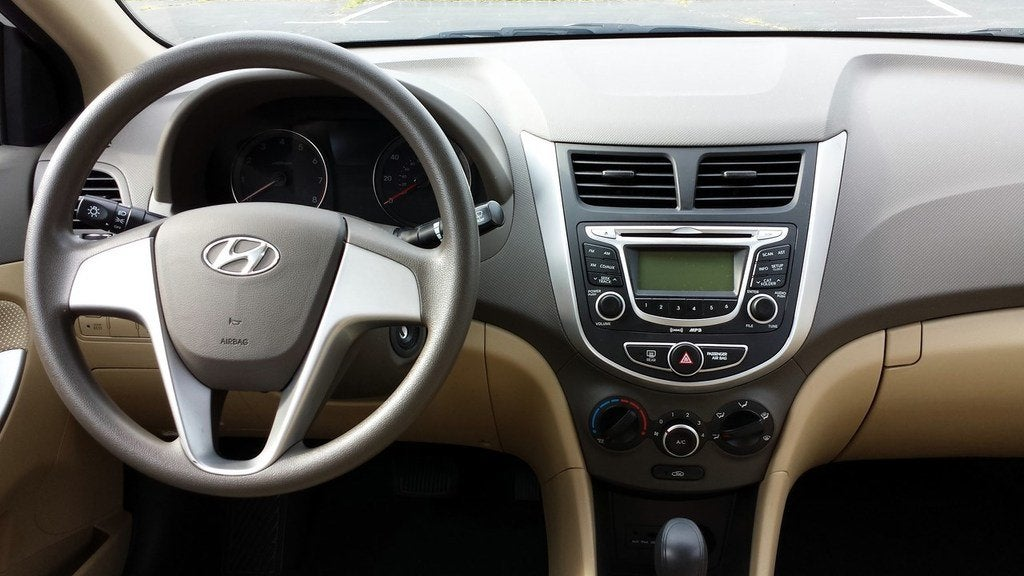 2013 Hyundai Accent Interior Photo On