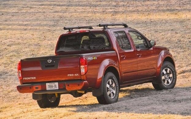 2013 Nissan Frontier PRO4X rear