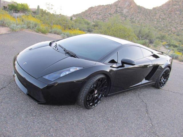 Black 2004 Lamborghini Gallardo