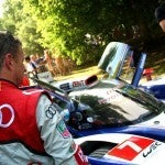 Allan McNish Toyota TS030