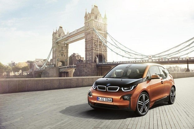 BMW i3 Front Side with Scenery BMW Group