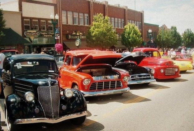Cedar City July Jamboree cars