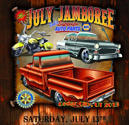 Cedar City July Jamboree flyer