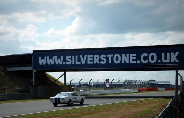 Mustang at Silverstone