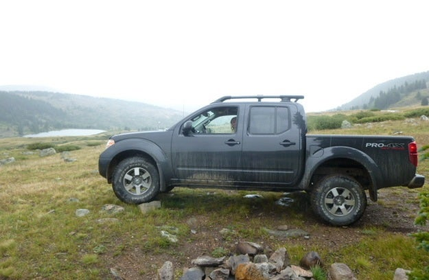 2013 nissan frontier pro4x review