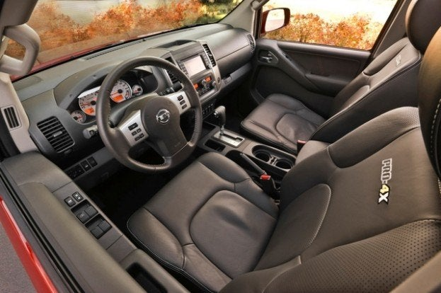 Nissan Frontier PRO4X interior