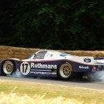 Porsche 962 Crash Goodwood Derek Bell