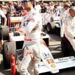 Sergio Perez McLaren MP4 4