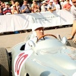 Sir Stirling Moss Silver Arrow