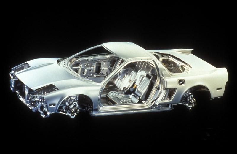 1991 Acura NSX cutaway