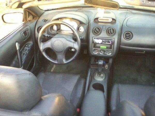 2001 Mitsubishi Eclipse GT Spyder interior