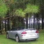2001 Mitsubishi Eclipse GT Spyder rear