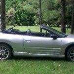 2001 Mitsubishi Eclipse GT Spyder side