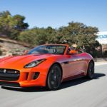 2014 Jaguar F Type V8 S front three quarters view