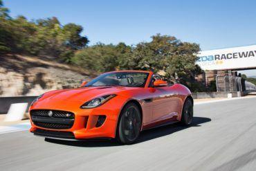 2014 Jaguar F Type V8 S front three quarters view