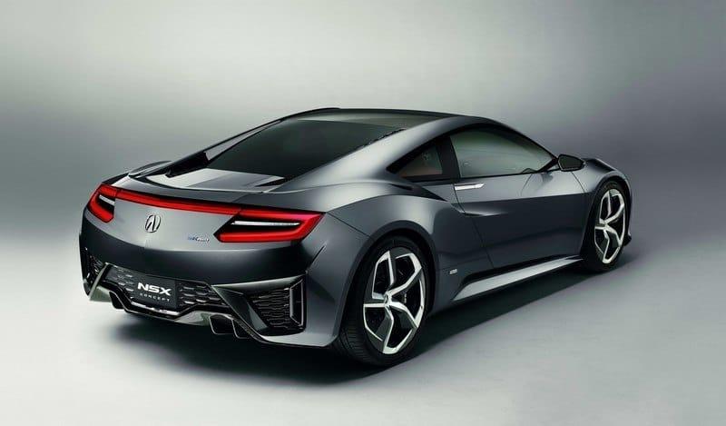 Acura NSX Concept rear