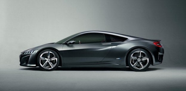 Acura NSX Concept side