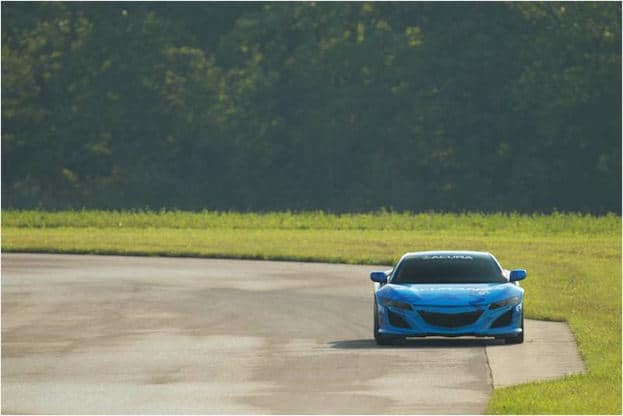 Acura NSX at Mid-Ohio 2013 on Track