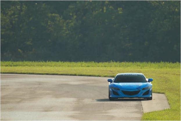 Acura NSX at Mid-Ohio 2013 on Track