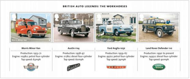 British Auto Legends - The Workhorses