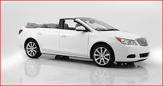 Buick Lacrosse convertible