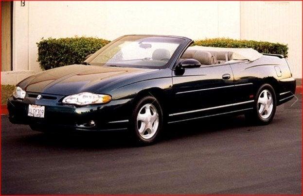 Chevy Monte Carlo convertible