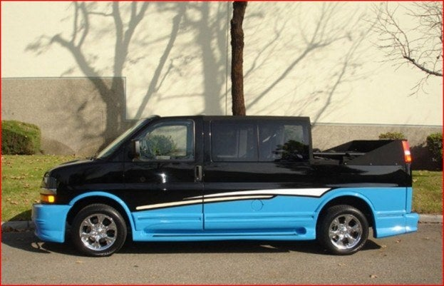 Chevy Van convertible