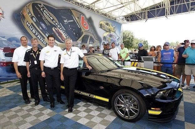 Hertz Penske GT Mustang