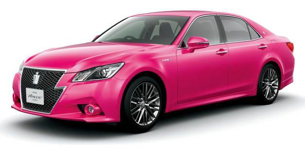 Hot Pink JDM Toyota Crown