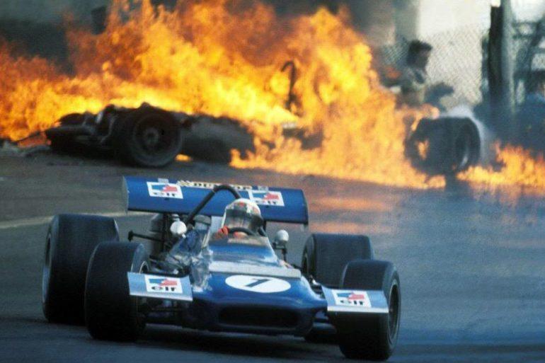 Jackie Stewart 1970 SpanishGP 01