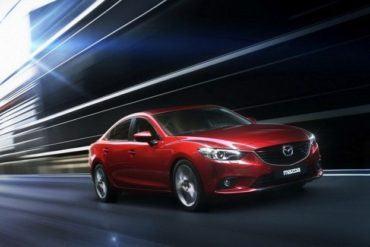 Mazda6 driving